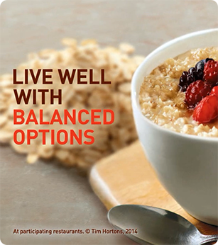 Live well with balanced options