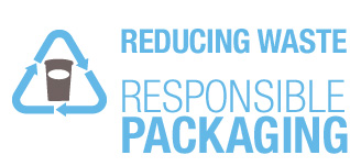 Reduction waste, responsible packaging